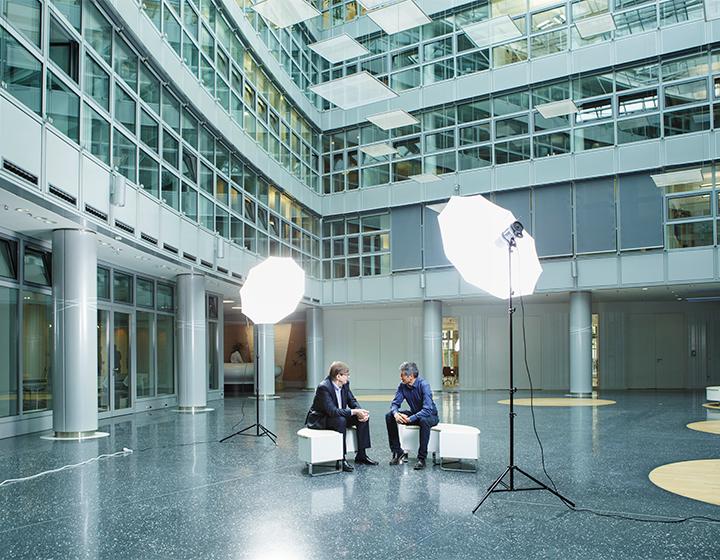 Interview Ranga Yogeshwar und Otmar Wiestler