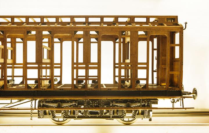 Technikmuseum Berlin | Modell der Vorortbahn Blankenese-Ohlsdorf